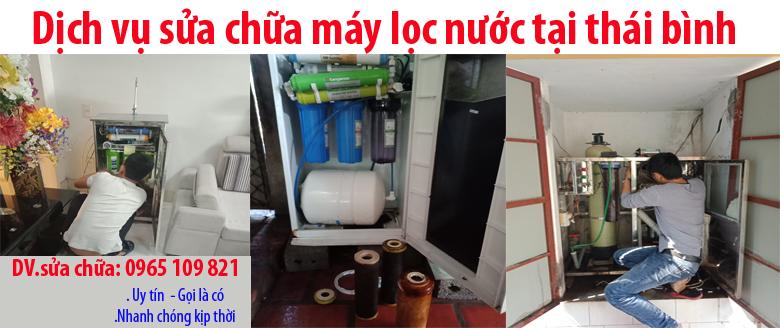 Sửa chữa máy lọc nước tại thái bình