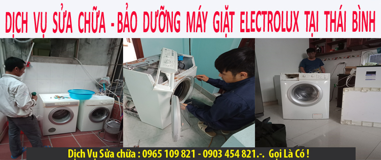 Sửa máy giặt electrolux tại thái bình