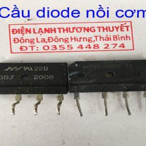 cầu diode nồi cơm nội địa