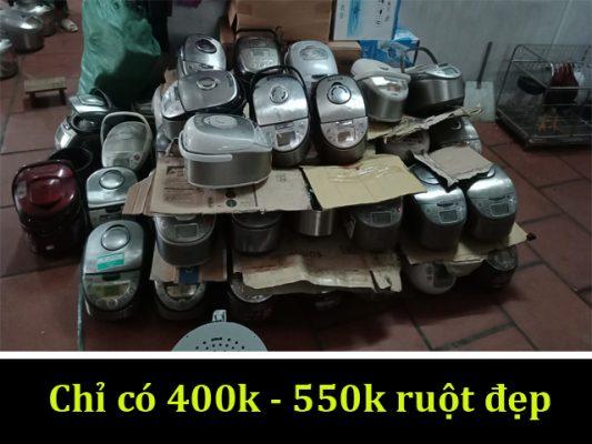 lô nồi cơm nội địa giá chỉ 400k-500k